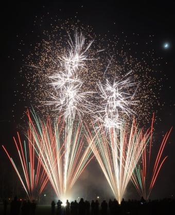De Rijswijkse Vuurwerkhal: Vuurwerkdemo 2015