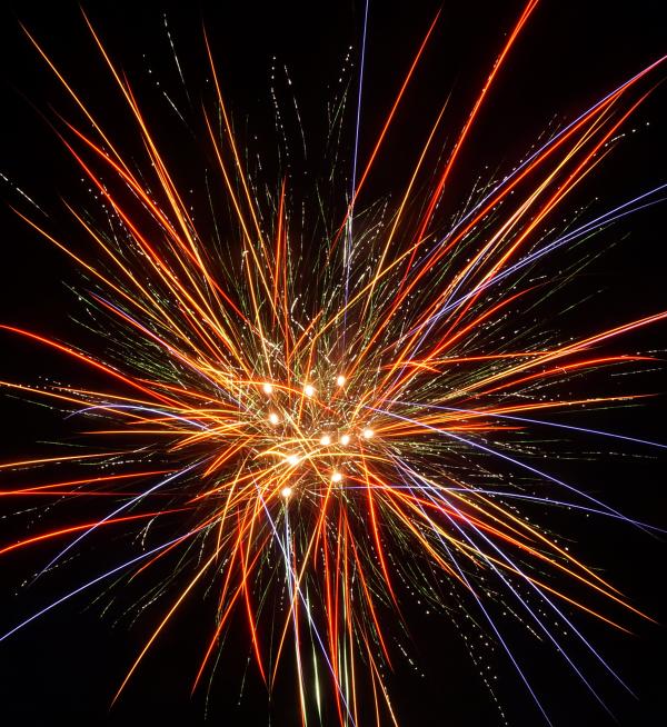 Vuurwerkdemo Pangu 2016