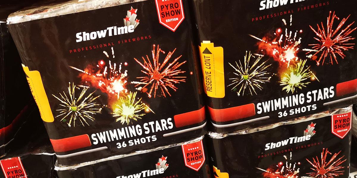 De Showtime collectie van Cafferata Vuurwerk