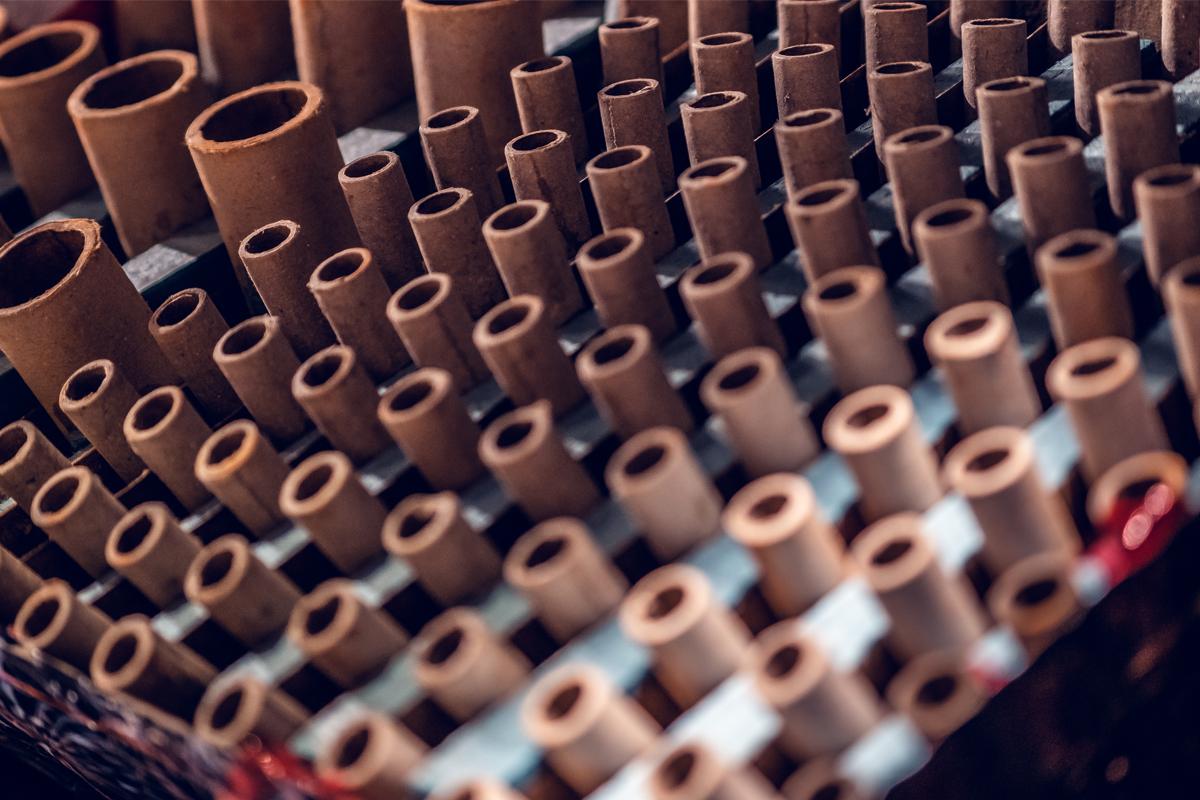 Verschillende kalibers van Broekhoff Vuurwerk